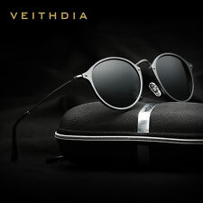 Retro Aluminum Polarized Sunglasses Driving Glasses Eyewear Shades for Men Women