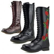 Ladies lace up knee high boot,Ladies winter boots,Ladies long boots lace up shoe