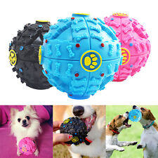 Pet Big Ball Toy Dog Cat Play Squeaky Squeaker Quack Sound Chew Train Funny New