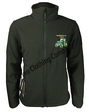 John Deere Tractor Regatta Full Zip Soft Shell Jacket with Embroidered Logo