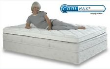 NEW QUEEN CoolMax Premium Memory Foam Mattress Pad with Quilted Cover 60 X 80