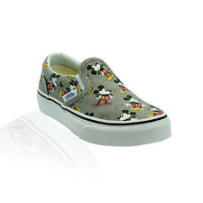 Vans - Classic Slip On (Disney) Kids - Mickey Mouse/Frost Grey