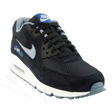 Nike - Air Max 90 Essential Casual Shoe - Black/Gym Blue/Blue Graphite/Dove Grey