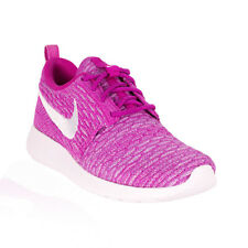 Nike - Roshe One Flyknit Casual Shoe - Fuchsia/White/Atomic Purple