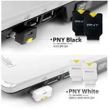 PNY Micro SD SDHC SDXC TF Card Reader Phone Baby, USB Adapter White brand new