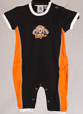 Official NRL Wests Tigers Baby Supporter Onesies - Size : 0-1
