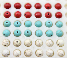 100/300/500 pcs Very beautiful Turquoise interval beads 6/8/10 mm