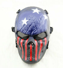 Captain Tactical Mask Military Wargame Paintball Airsoft Tactical Skull Masks