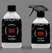 REGN AUTO CAR WASH 500mL SPRAY, CONCENTRATE or COMPLETE CAR CLEANING KIT PACK