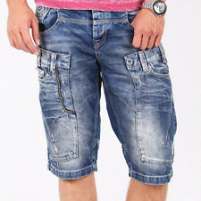 CIPO & BAXX POWELL MENS JEANS SHORTS DENIM ALL SIZES