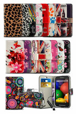 Samsung Galaxy S6 - Vibrant Printed Pattern Design Wallet Case Cover & Mini Pen