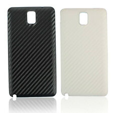 Carbon Fiber Skin Battery Back Case Door Cover for Samsung Galaxy Note 3 N9000