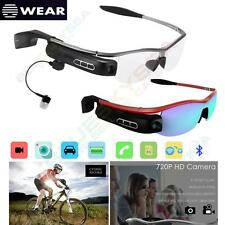 Wireless Bluetooth 4.0 Smart Glass Handsfree DVR Outdoor Sports for Android IOS
