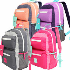 "Trailmaker 17"" Backpack 3-Compartment School Book Bag Girl NEW"
