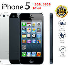 Original Apple iPhone 5  GSM 100% Factory Unlocked  Black / White