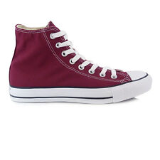 Mens Converse All Star Hi Maroon Trainers