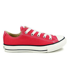 Youths Converse Raspberry Chuck Taylor All Star Oxford Trainers