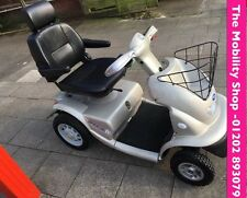 TGA BREEZE 4 IV 8 MPH ROAD LEGAL MOBILITY SCOOTER Silver
