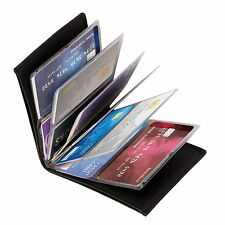Wonder Wallet RFID Blocking Slim Credit Card Purse Genuine Leather New 6 Colors