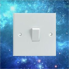 Blue 'Space' Pattern Electrical Light Switch Surround Printed Vinyl Sticker