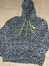 VICTORIAS SECRET PINK 1/4 ZIP UNLINED AZTEC ANORAK DOG WINDBREAKER SOLD OUT NWT