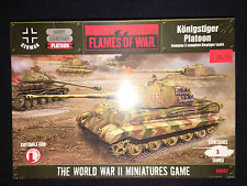 Flames Of War Metal German Konigstiger Platoon - GBX30