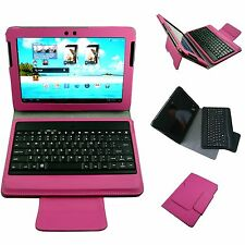 For Samsung Galaxy Tab & Tab2 10.1 P7510 P5100 Bluetooth Keyboard Case Cover