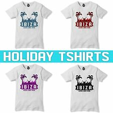 Girls Lads Holiday T Shirt Stag tshirt Hen PARTY PERSONALISED Summer Top  93