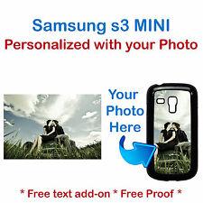New Custom Photo Picture Phone Case Cover for Samsung Galaxy s3 MINI