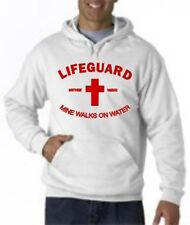 LIFEGUARD HOODIE SHIRT MINE WALKS ON WATER CHRISTIAN CHRISTJESUS HOODY LIFEGUARD