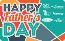 Yard House - Happy Father's Day - Gift Card $25 $50 $100  Email delivery
