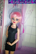 Synthetic Pixie cut Doll Wig size 6-7 fits Ellowyne, Evangeline Pink or Violet