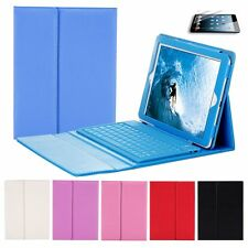 Cover Wireless Leather Case For Apple iPad Air Bluetooth Keyboard Folding