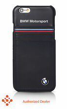 """Official BMW iPhone 6/6s 4.7""""Synthetic Leather (BMHCP6SHSN)Hard Case-Blue"""