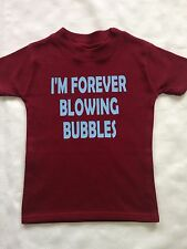 Baby West Ham Kids/toddler West Ham T-shirts bubbles