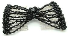 EZ Magic Hair Beauty Decoration Comb Pearl Stretchy Hairpin Bow Double Comb Lady