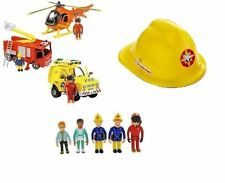 Fireman Sam Playset Toys - Engine, Helicopter, Rescue Vehicle & Figures