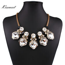 New Fashion Necklace Rhinestone Necklace  18K Gold Filled Jewelry