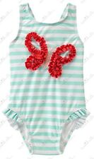 NWT GYMBOREE SWIM SHOP BUTTERFLY STRIPED ONE PIECE BATHING SUIT SWIMWEAR 18-24 M