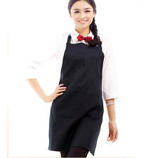 PLAIN APRON WITH FRONT POCKET FOR CHEFS KITCHEN COOKING CRAFT BAKING - UK Seller