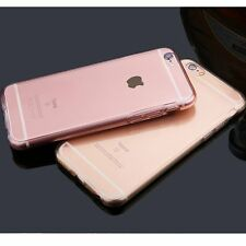 Glossy Clear Tranparent Full Case Cover Skin For Apple iPhone 6 6s 4.7 Plus 5.5