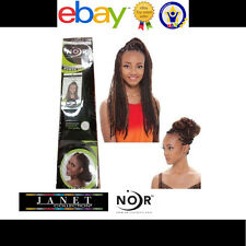 7 packs Janet Noir Afro Twist Braid Synthetic Marley Braiding Hair Extension