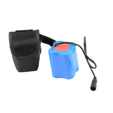 Rechargeable 8.4V 18650 Battery Pack Bank For LED Bicycle Light Headlight Torch