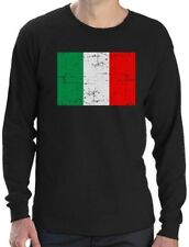 Italy Flag Vintage Style Retro Italian Long Sleeve T-Shirt Gift Idea