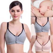 Women Maternity Bra Breastfeeding Bra Pregnant Feeding Nursing Bra Wire Free Hot