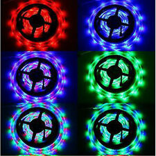 5M 3528/5050 SMD RGB/White/Red/Green/Blue 300 LEDs Strip Lights 12V Power Supply