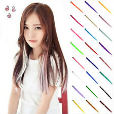 1pcs Women 12 Color Long Straight Synthetic Clip in on Hair Extensions Piece HOT