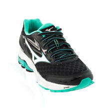 Mizuno - Wave Inspire 12 Running Shoe - Black/White/Atlantis