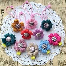 10Pcs Colorful Elastic Rubber Hair Rope baby hairpins Kids Girl Ponytail Holder