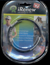 NEW IRENEW ENERGY Wristband BRACELET IRENEW CHOOSE COLOUR IN PACKAGE
